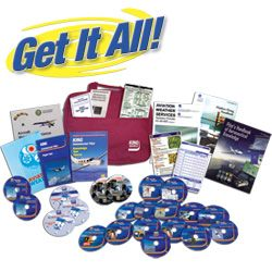 Commercial Pilot Get It All Kit - DVD for Windows - Includes Knowledge Exam Prep & Checkride Prep (Oral & Flight) - Plus 14 additional flight skills courses & pilot gear - Guarantee you pass the FAA Knowledge Test and Checkride plus you'll save money on your overall flight training by being better prepared when you step into the cockpit.