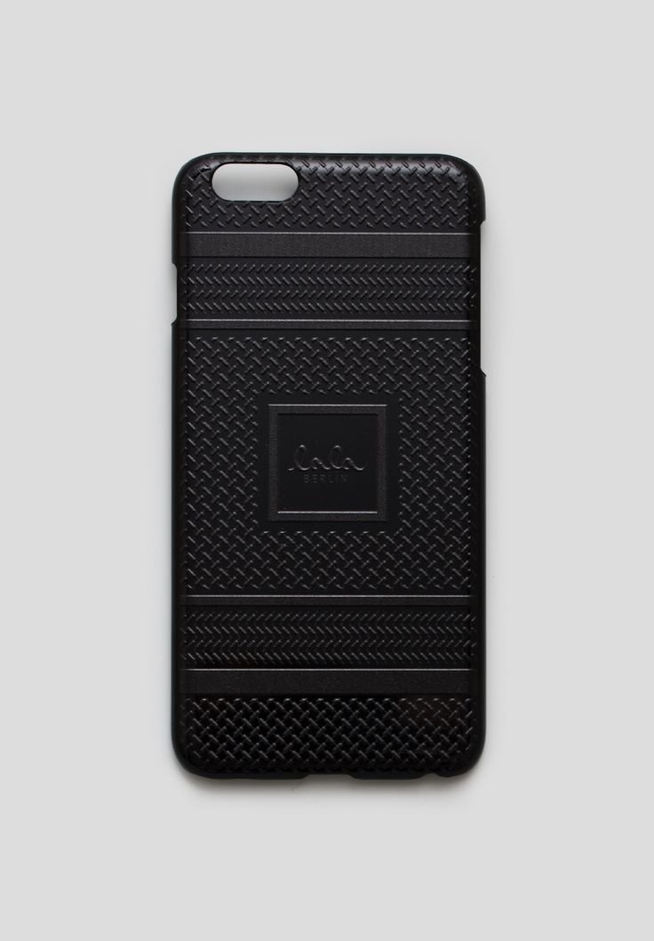 As a part of our exclusive Kufiya Noire Capsule Collection, our popular lala Berlin mobile case for Apple's iPhone 6 is now available in Black on Black with a 3D signature Kufiya   #lalaberlin #lala #berlin #lalaloves #kufiyanoire #black #specialedition #design #style #fashion #autumn #winter #aw16