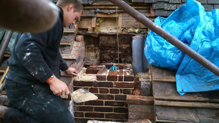 Re-building the chimney