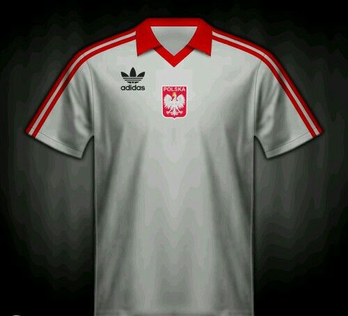 ec5134c008db2 Poland home shirt for the 1982 World Cup Finals.