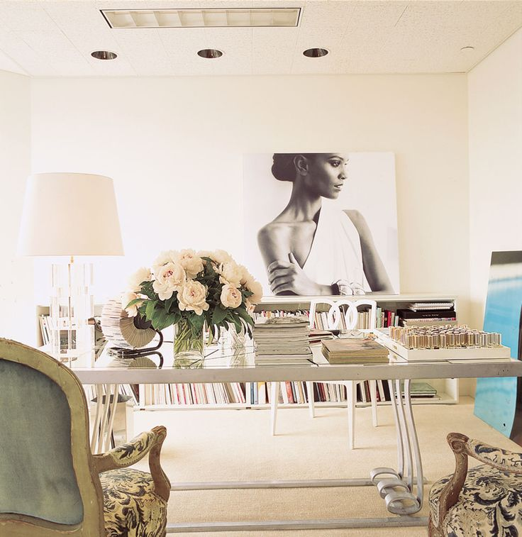 21 Feminine Home Office Designs Decorating Ideas: 582 Best *HOME OFFICE/CRAFTS ROOM* Images On Pinterest