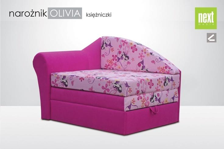 Od ręki, transport GRATIS! #Sofa 1-osobowa Oliwia (#Księżniczki)