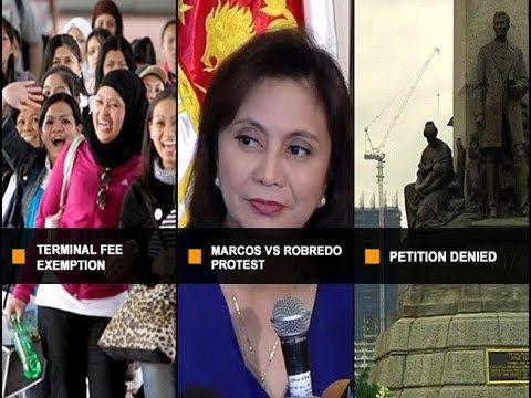 UNTV: Ito Ang Balita (April 25, 2017) - WATCH VIDEO HERE -> http://dutertenewstoday.com/untv-ito-ang-balita-april-25-2017/   — Mga OFW, exempted na sa pagbabayad ng airport terminal fee simula April 30 — VP Robredo, binigyan ng 5 araw ng PET upang bayaran ang P8-M deposito sa kanyang counter-protest — Petisyon upang ipagiba ang Torre De Manila, hindi pinaboran  ng Korte Suprema — Tunghayan ang mga ito kasama ng iba...
