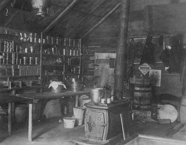 Interior Of Carson S Trading Post 1849 Collections Online
