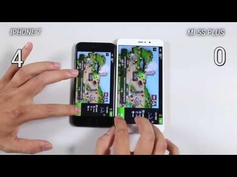 Xiaomi Mi 5s Plus vs iPhone 7 - Speed Test