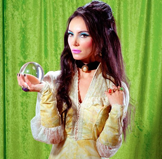 Samantha Robinson as Elaine in The Love Witch photographed ...