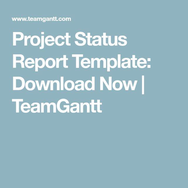 Pinterestu0027te 25u0027ten fazla benzersiz Project status report fikri - project status report template