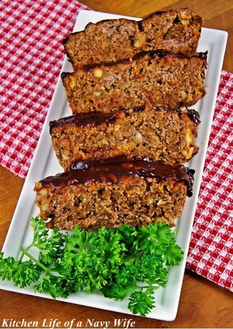 'Stove Top Stuffing Meatloaf'   Source: Adapted from  Food.com     Ingredients       1.5 lbs ground beef   1 box Stove Top stuffi...