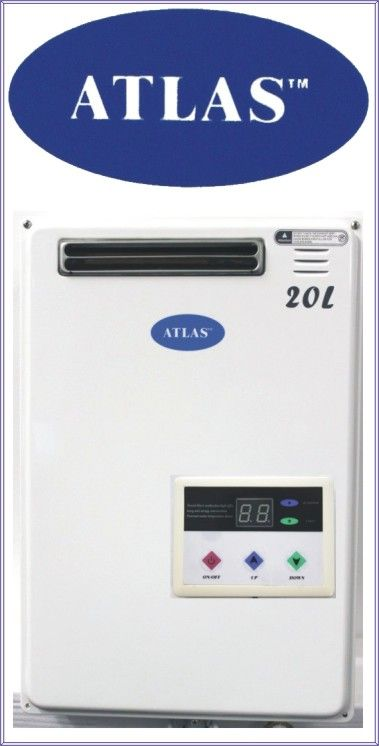 atlas Water heaters Gas On Demand | Atlas 20Lt/min R6900 Includes Control Panel & VAT, excludes delivery ...