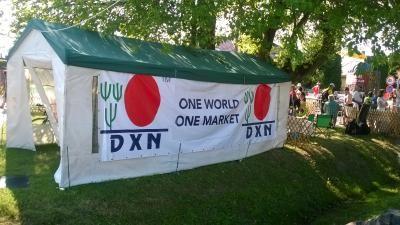 DXN, mint szponzor a nagyatádi eXtremeMan versenyen