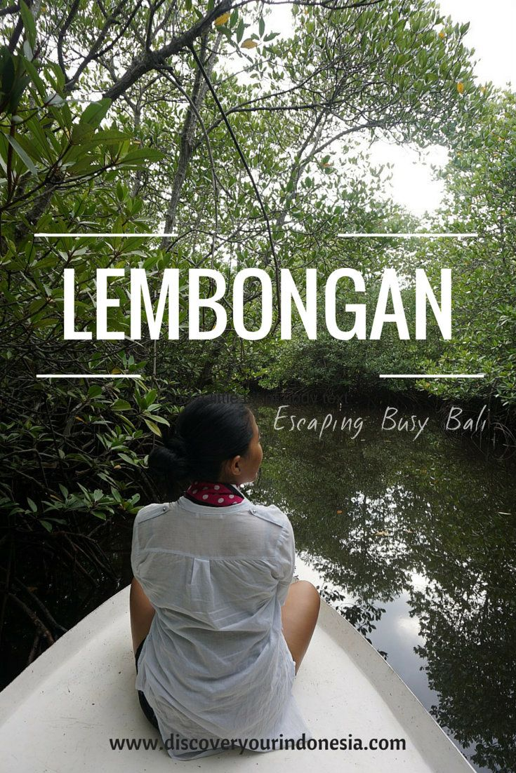Lembongan Island in Indonesia is a great place to be to escaping busy Bali (the mainland).