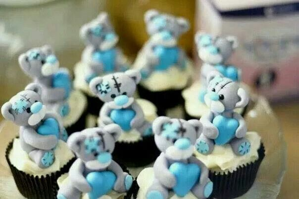 Tatty teddies cupcakes