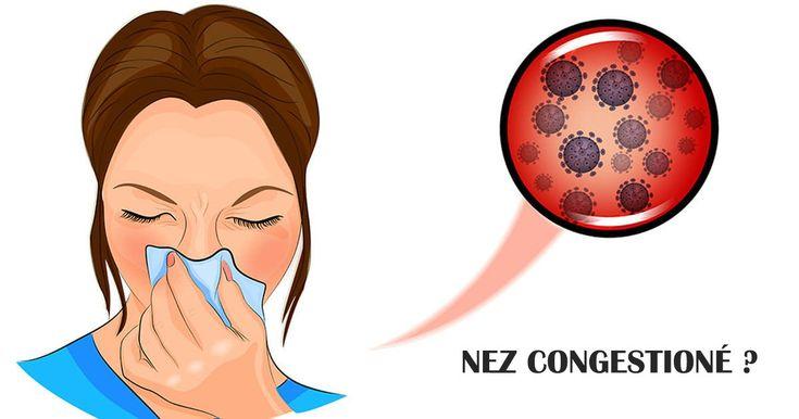 Une astuce très efficace pour vous débarrasser du rhume et de tous ses symptômes naturellement et rapidement !...