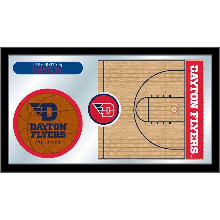 Dayton Flyers Basketball Court Mirror Wall Art Bulldogs