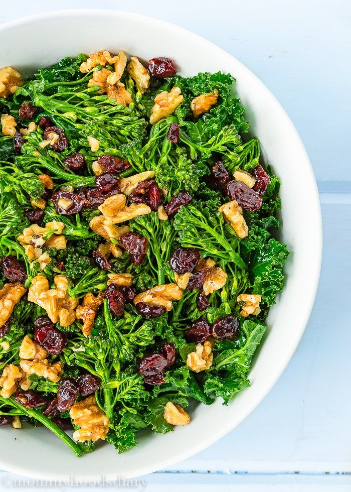 Copycat Chick fil A Superfood Salad-Made it today-Yum! Used plain walnuts, skip lemon zest, reg broccoli (in micro 1 min to soften)