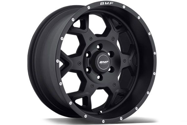 BMF SOTA Truck Wheels, Stealth Finish - Best Price on BMF S.O.T.A Black Truck Rims