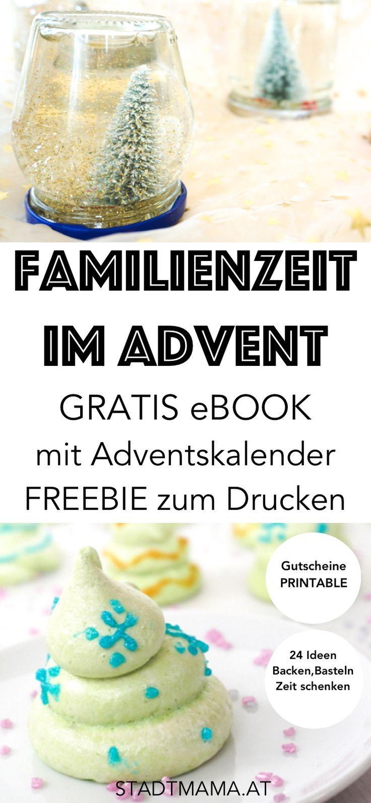 Bist du auf der Suche nach einem passenden Adventskalender? Wir haben etwas für dich: Familienzeit im Advent. Der Besinnliche und achtsame Adventskalender mit vielen Bastelanleitungen, Bastelideen und Rezepten für den Advents und für Weihnachten. (Achtsamkeit, Basteln mit Kindern, Bastelideen Advent, Gratis eBook, Freebook)
