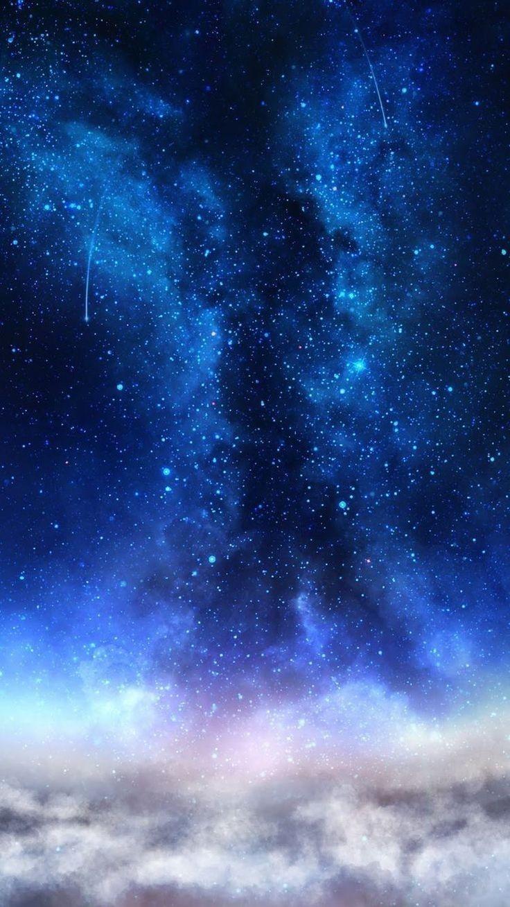Pin By Silvita Saravia On Mi Tema Blue Galaxy Wallpaper Galaxies Wallpaper Blue Wallpapers Galaxy blue wallpaper for phone