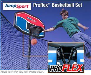 JumpSport Trampoline-p-ProFlex-Basketball