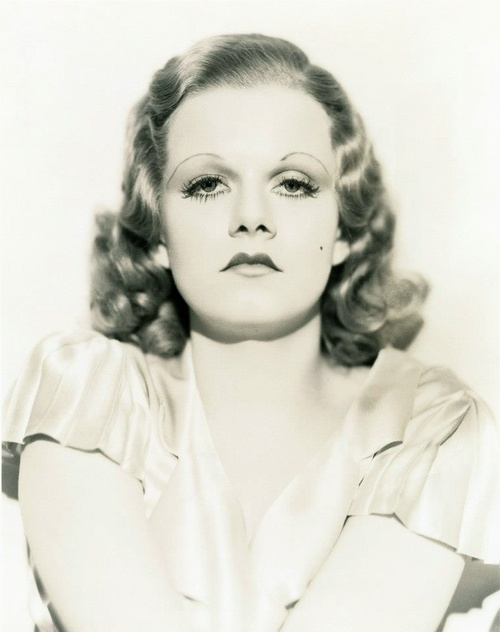 Jean Harlow-tragically died at the young age of 26 from cerebral edema.