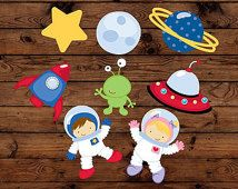 Space Astronaut Birthday cupcake toppers, 16 cupcake toppers,  alien birthday, Rocket party, galaxy birthday,space theme party, UFO decor
