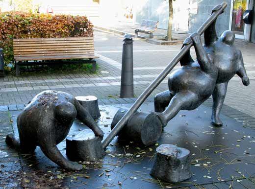 """""""Samarbejde"""" af Keld Moseholm Jørgensen ..."""