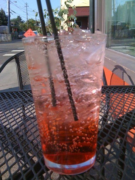 Perfect Raspberry Italian Soda- and just 2 bucks | Drinks | Pinterest ...