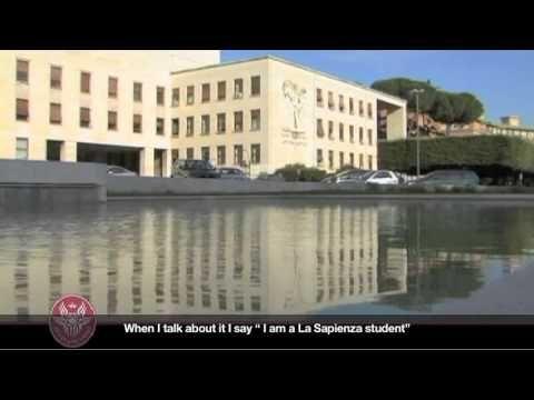 Sapienza - Universidad de Roma. Video de presentación.