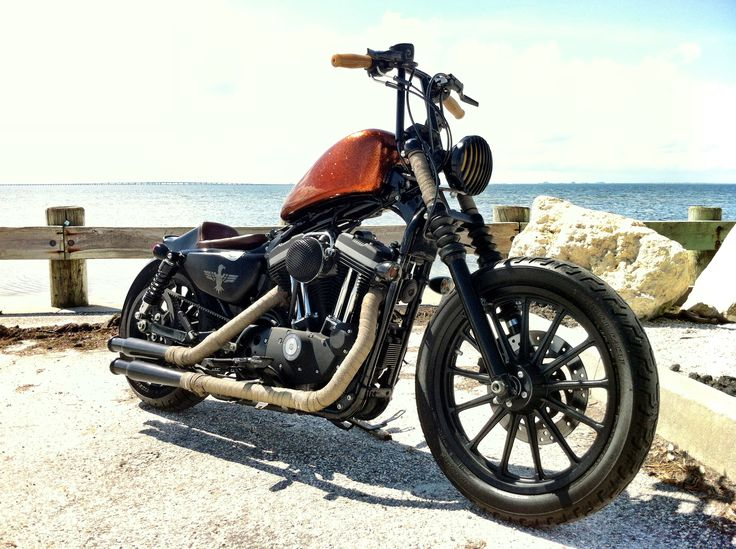 My sportster bobber chopper motorcycle