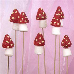 Strawberry Mushrooms