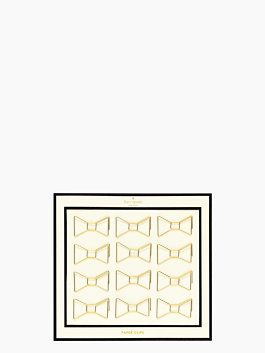bow paper clips by kate spade new york