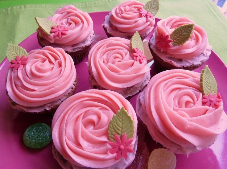 """Recetas de una mamí """"gluten free"""": Cupcakes de chocolate y vainilla #SinGluten"""