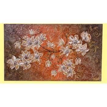 Oltre 25 fantastiche idee su dipinti di fiori astratti su for Quadri decorativi moderni