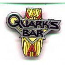 Star Trek: Deep Space Nine Quark's Bar Logo Enamel Pin, NEW UNUSED