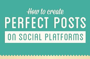 How To Create Perfect Posts on Facebook, Twitter, Pinterest And Google+ [INFOGRAPHIC]