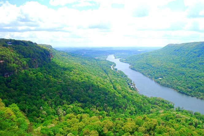 One of the more popular hikes in the Chattanooga area lies atop Signal Mountain and within a mere 10 miles of downtown.
