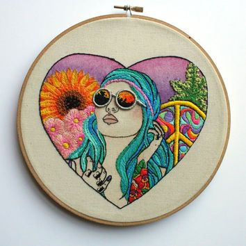modern hand embroidery - Google Search