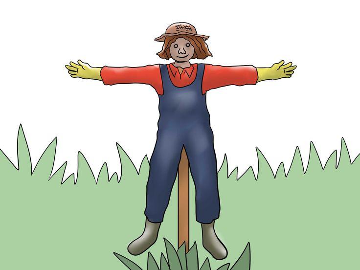 How to Make a Scarecrow -- via wikiHow.com