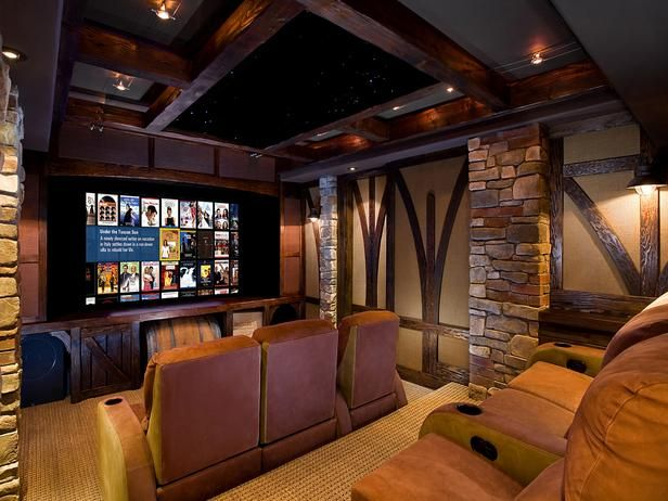 15 High End Home Theater Designs : Interior Remodeling : HGTV Remodels