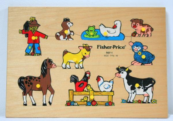 Jeux d'édition de livre en bois vintage