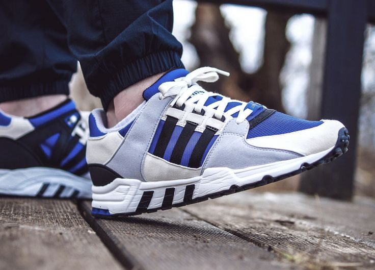 Adidas Equipment Running Support 93 - Collegiate Royal/Black/Grey - 2014 (by azzido83)