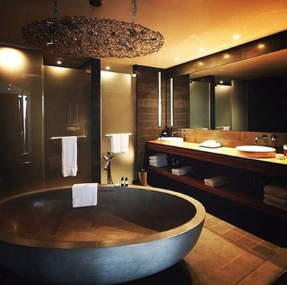 100's Of Lavatory Designs. Www.pinterest.com… Thanks To NJ Estates Actual Property…