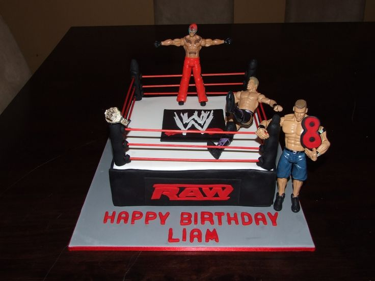 wwe birthday cake | WWE — Children's Birthday Cakes