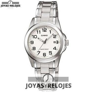 ⬆️😍✅ CASIO LTP-1215A-7B ✅😍⬆️ Fantástico Modelo de la Colección de Relojes Casio PRECIO 32 € Lo puedes comprar en 😍 https://www.joyasyrelojesonline.es/producto/casio-ltp-1215a-7b-reloj-de-pulsera-para-mujer-color-plateado/ 😍 ¡¡Corre que vuelan!!