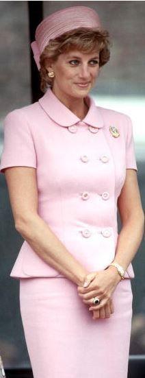Diana, Princess of Wales, May 20, 1995 in Philip Somerville   Royal Hats
