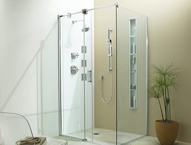 Clean And Simple Shower Enclosure By Kohler