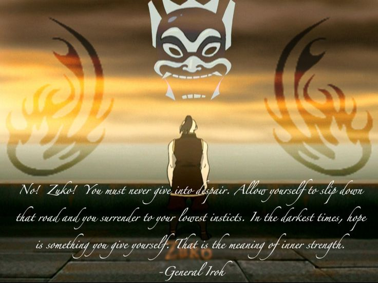 ~General Iroh. ... Wow. I need to spend more time watching my old favorite shows again. I love it!
