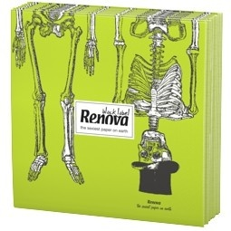 Take the skeletons from the closet and invite them to join you this Halloween. Chilling!