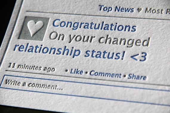 Retro Letterpress for Facebook -- Classic