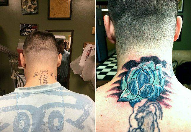 Tatuagens ficam para sempre, mas os pensamentos mudam. Um casal de tatuadores norte-americanos está trabalhando de graça para cobrir mensagens e símbolos de ódio gravadas nas peles de pessoas arrependidas. Tudo começou quando um homem com o rosto tatuado com desenhos de uma gangue entrou no estúdio Southside Tattoo, em Baltimore, EUA, e conversou com a dona, Beth Cutlip. Casado e com filhos, ele tenta construir carreira como eletricista, mas os desenhos costumam assustar clientes. Ela…